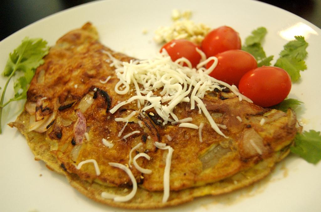 Chilli omeleta so syrom - ilustračné foto - zdroj: flickr.com