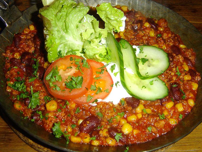 Chili sin carne - ilustračné foto