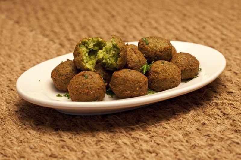 Falafel - zdroj: http://en.wikipedia.org/wiki/File:Falafel_balls.jpg