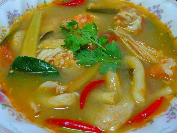 Thajská ostro kyslá polievka - ilustračné foto - zdroj: flickr.com