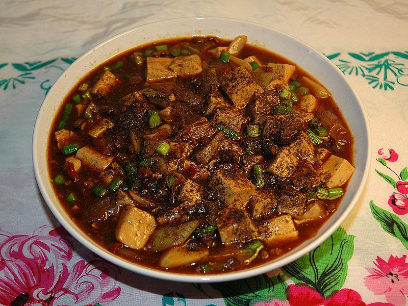 Ilustračné foto - Zdroj: http://zh.wikipedia.org/wiki/File:Mapo_tofu.JPG