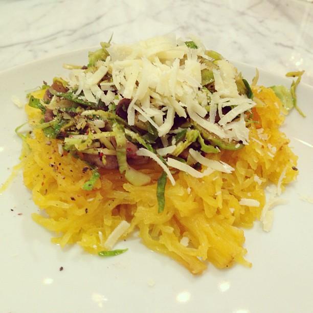 Špagetová tekvica so špargľou - ilustračné foto