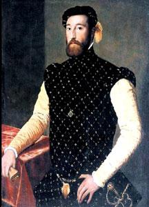 Garcilaso de la Vega - zdroj: http://upload.wikimedia.org/wikipedia/commons/7/7b/Supuesto_retrato_de_Garcilaso_de_la_Vega.jpg