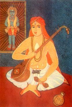 Purandarasa - zdroj: http://upload.wikimedia.org/wikipedia/kn/a/a4/Purandara.jpg